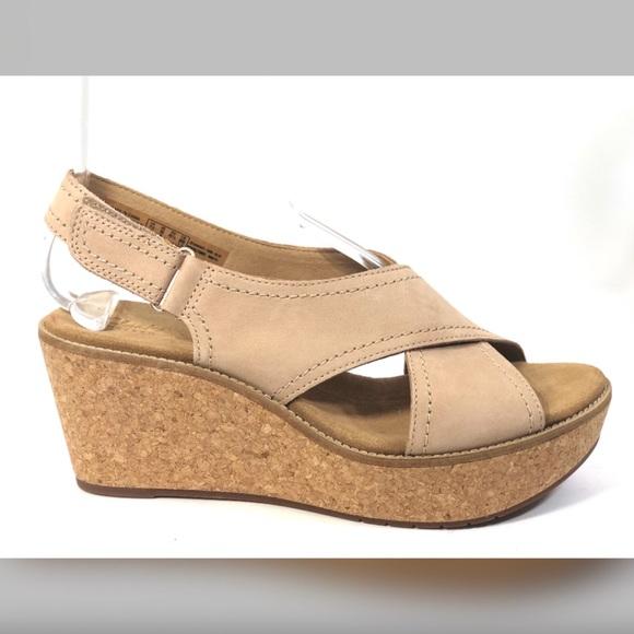6264d9fe57bd Clarks Shoes - NEW Clarks Artisan Aisley Tulip Sandals Size 10